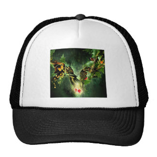Abstract Cool Ladybird Butterfly Vines Trucker Hat