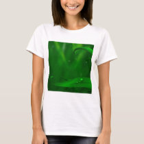 Abstract Cool Land Of Green Spiders T-Shirt