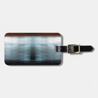 Abstract Cool Layers Of Light Bag Tag