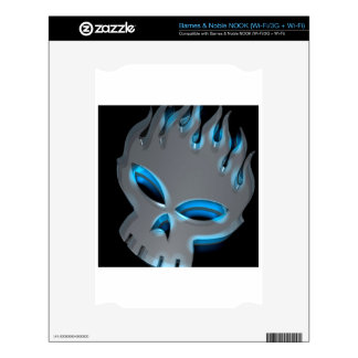 Abstract Cool Offspring Skull NOOK Decals