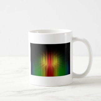 Abstract Cool Prism of Light Lines Coffee Mug