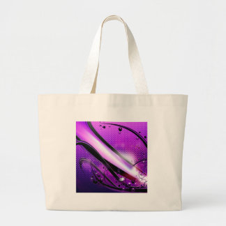 Abstract Cool Purple Revolver Bag