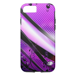 Abstract Cool Purple Revolver iPhone 7 Case