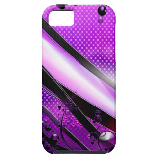 Abstract Cool Purple Revolver iPhone SE/5/5s Case