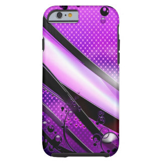 Abstract Cool Purple Revolver Tough iPhone 6 Case