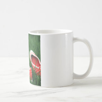 Abstract Cool Red Slip Shoes Coffee Mug
