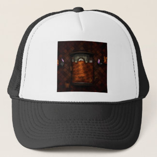 Abstract Cool Scary Bedtime Boy Trucker Hat