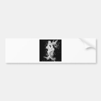 Abstract Cool Splash Of Love Bumper Stickers