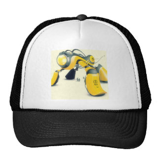 Abstract Cool Super Dog Ray Trucker Hat