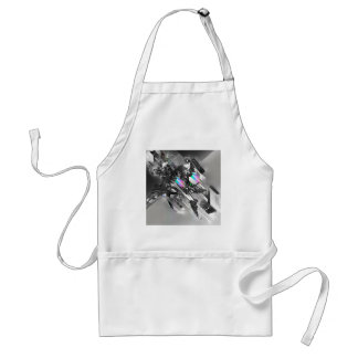 Abstract Cool Transformation Robotics Adult Apron
