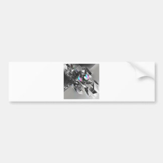 Abstract Cool Transformation Robotics Bumper Stickers