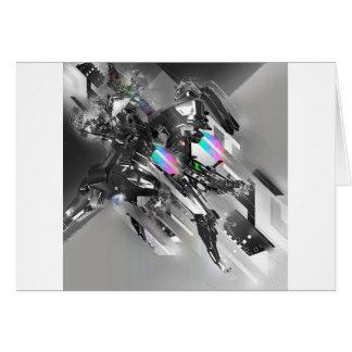 Abstract Cool Transformation Robotics Cards