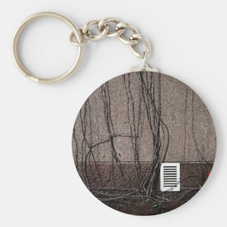 Abstract Cool Uncertain Rose Key Chain
