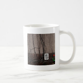 Abstract Cool Uncertain Rose Coffee Mugs