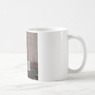 Abstract Cool Uncertain Rose Mug