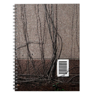 Abstract Cool Uncertain Rose Note Book