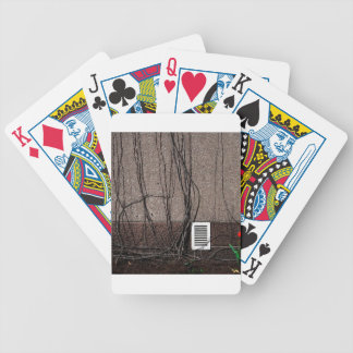 Abstract Cool Uncertain Rose Bicycle Card Decks