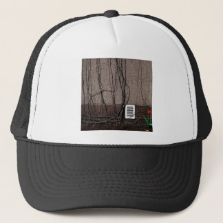 Abstract Cool Uncertain Rose Trucker Hat