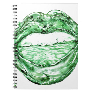 Abstract Cool Water Mouth Journal