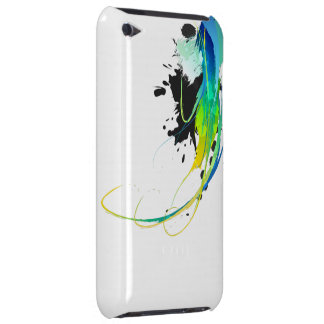 Abstract cool waters Paint Splatters Barely There iPod Cover
