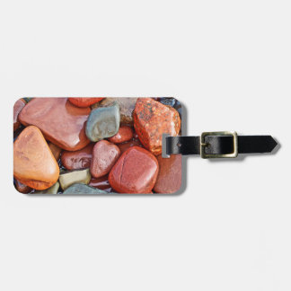 Abstract Cool Wet Pebbles Bag Tags