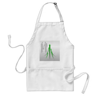Abstract Cooperation Background Adult Apron