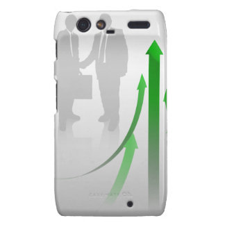Abstract Cooperation Background Motorola Droid RAZR Covers