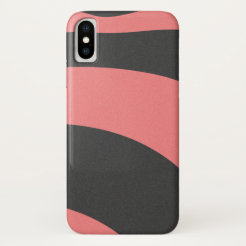 Abstract coral pattern IV iPhone X Case
