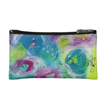Art Themed Abstract Cosmetic Case