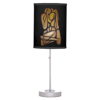 Abstract Couple Desk Lamps
