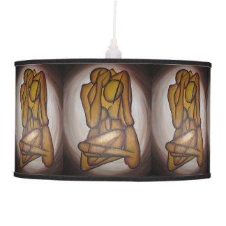 Abstract Couple Pendant Lamps
