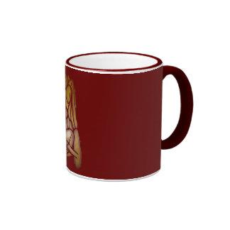 Abstract Couple Ringer Coffee Mug