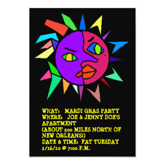 ABSTRACT COUPLES PARTY INVITATION ~EZ TO CUSTOMIZE