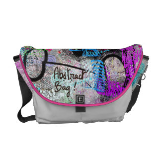 Abstract! Courier Bag