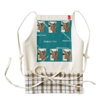 Abstract Cow apron