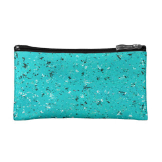 Abstract Cracked Texture Makeup Bag