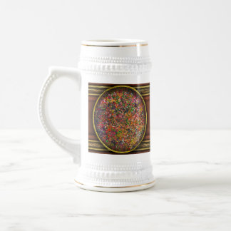 Abstract - Crayon - A Genuine Fiasco Beer Stein
