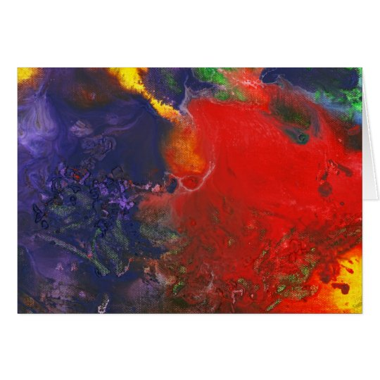 Abstract - Crayon - Andromeda Card