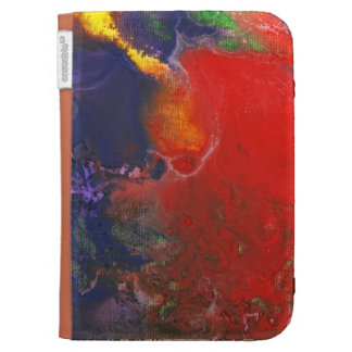Abstract - Crayon - Andromeda Case For Kindle