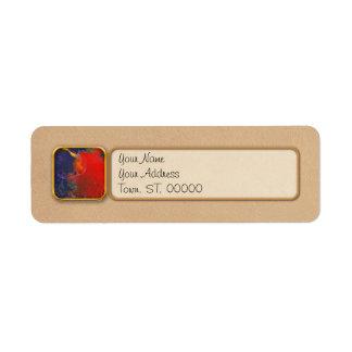 Abstract - Crayon - Andromeda Label