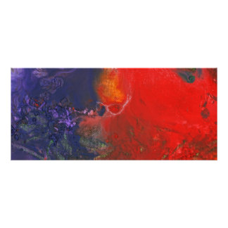 Abstract - Crayon - Andromeda Personalized Rack Card