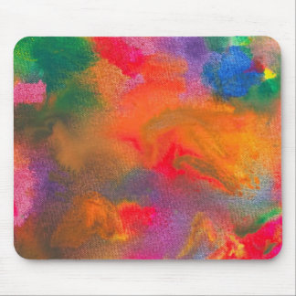 Abstract - Crayon - Melody Mousepads