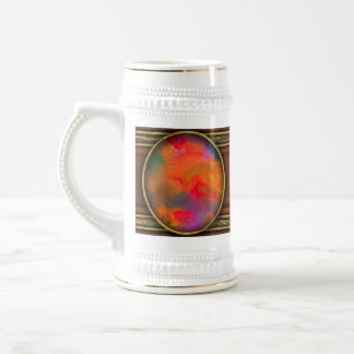 Abstract - Crayon - Melody 18 Oz Beer Stein