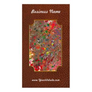 Abstract - Crayon - Montazuma's Revenge Business Card
