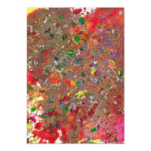 Abstract - Crayon - Montazuma's Revenge Card