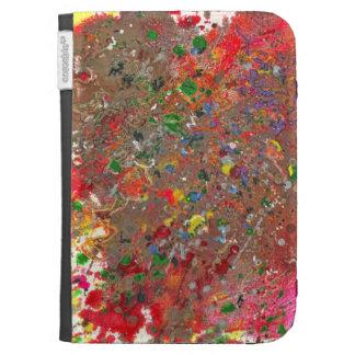 Abstract - Crayon - Montazuma's Revenge Kindle Folio Case