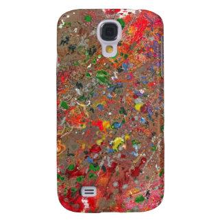 Abstract - Crayon - Montazuma's Revenge Samsung Galaxy S4 Case
