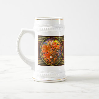 Abstract - Crayon - The Excitement Beer Stein