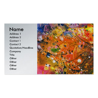 Abstract - Crayon - The Excitement Business Cards