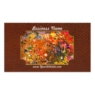 Abstract - Crayon - The Excitement Business Card